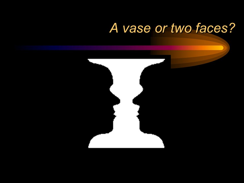 A vase or two faces