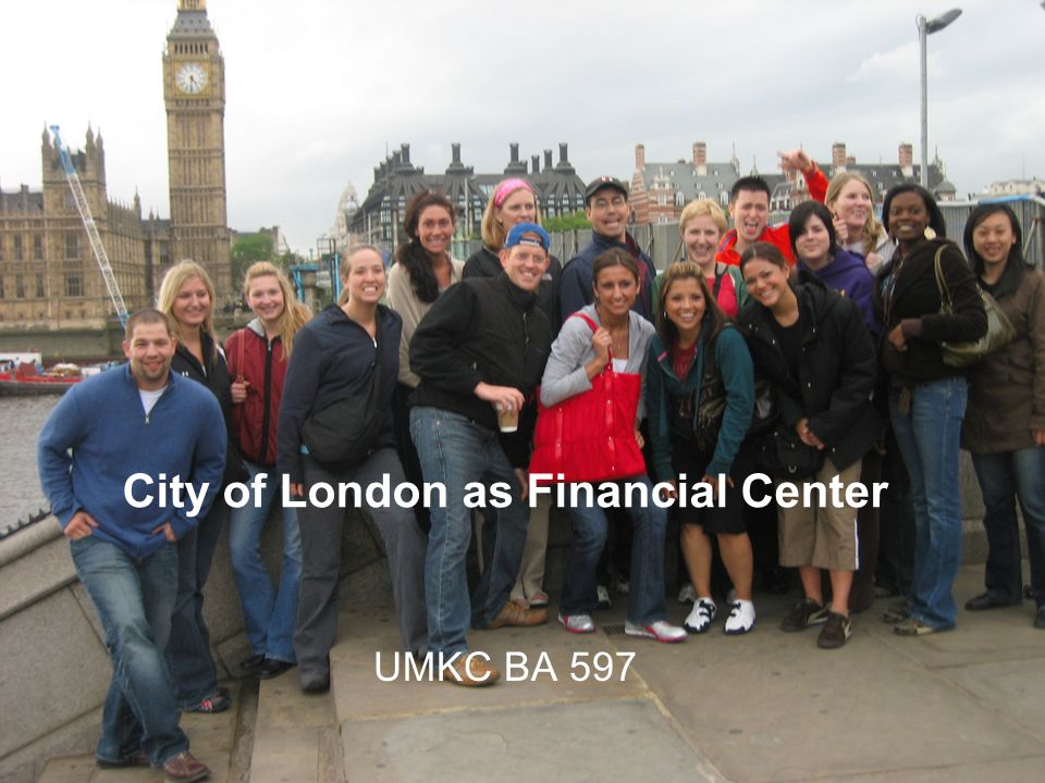 City of London as Financial Center