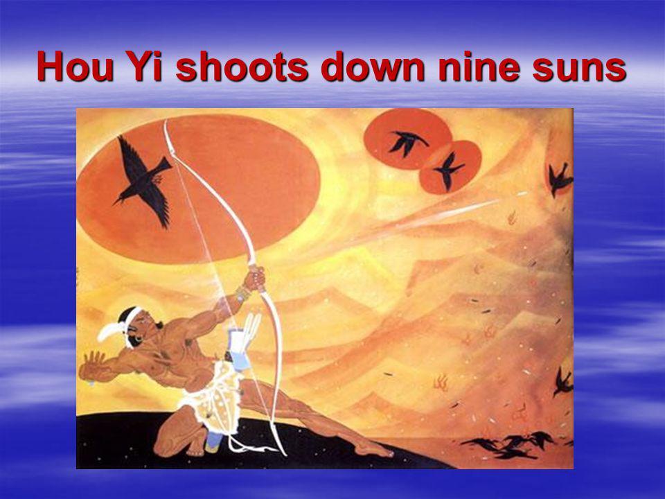 Hou Yi shoots down nine suns