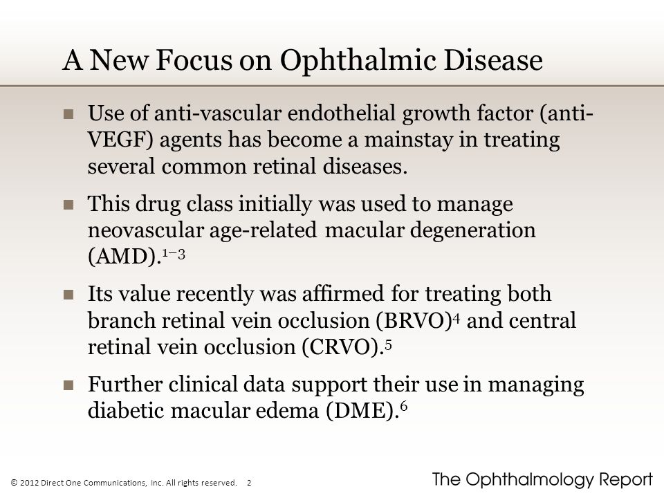A New Focus on Ophthalmic Disease