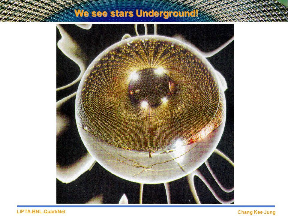 We see stars Underground!