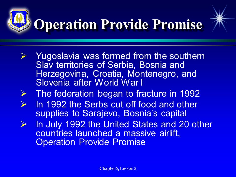 Operation Provide Promise