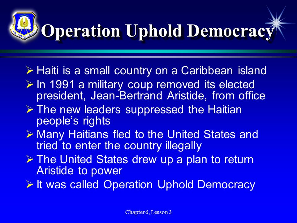 Operation Uphold Democracy