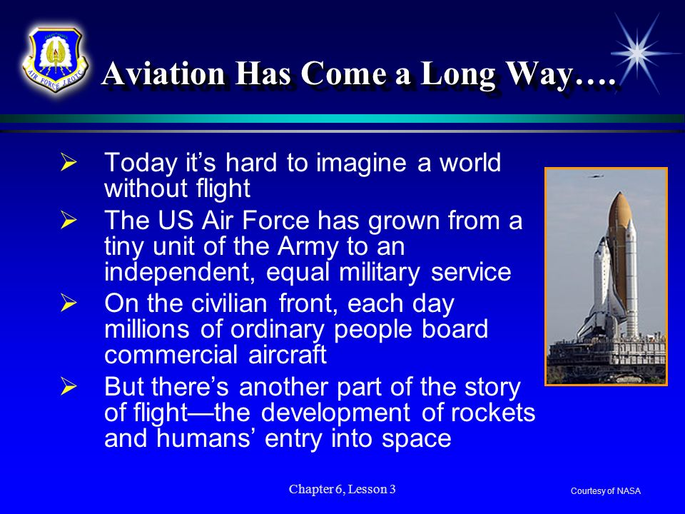 Aviation Has Come a Long Way….