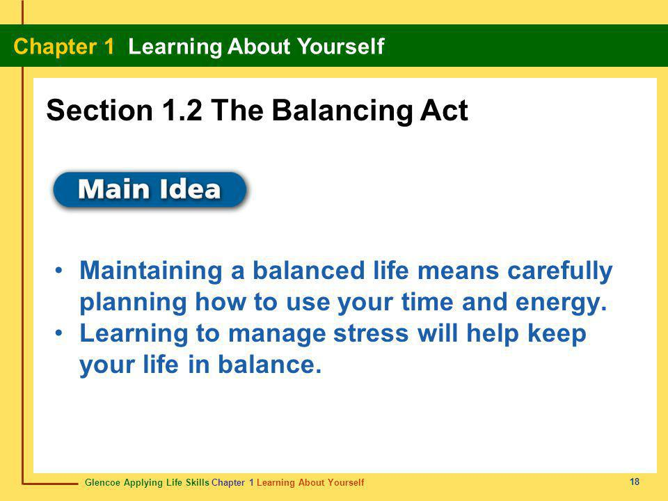 Section 1.2 The Balancing Act