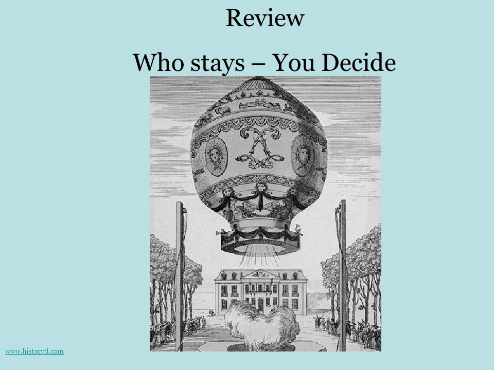 Review Who stays – You Decide www.historytl.com