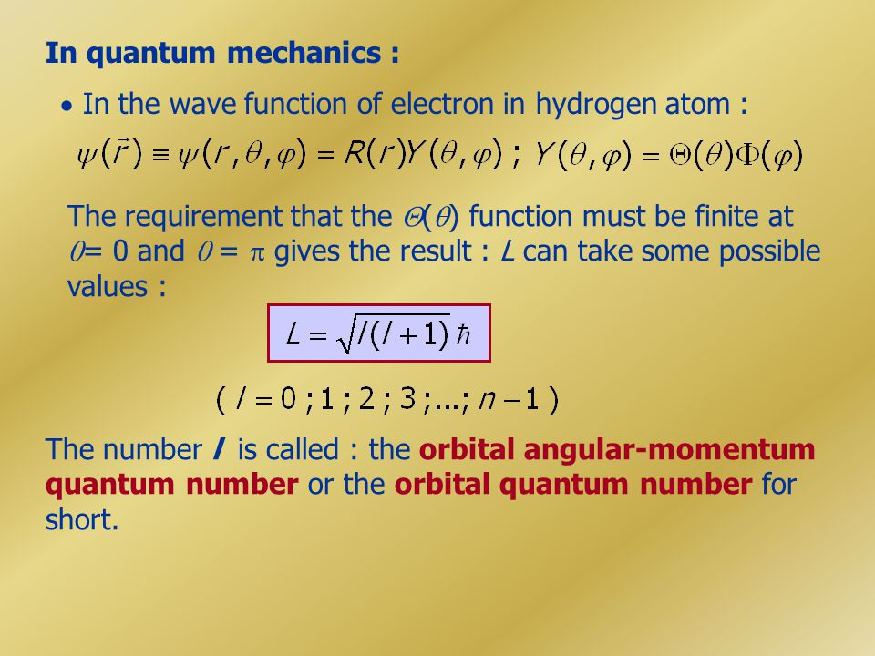 In quantum mechanics :  In the wave function of electron in hydrogen atom :