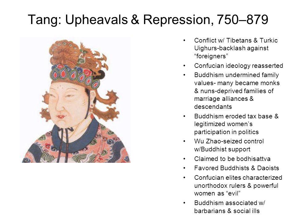 Tang: Upheavals & Repression, 750–879