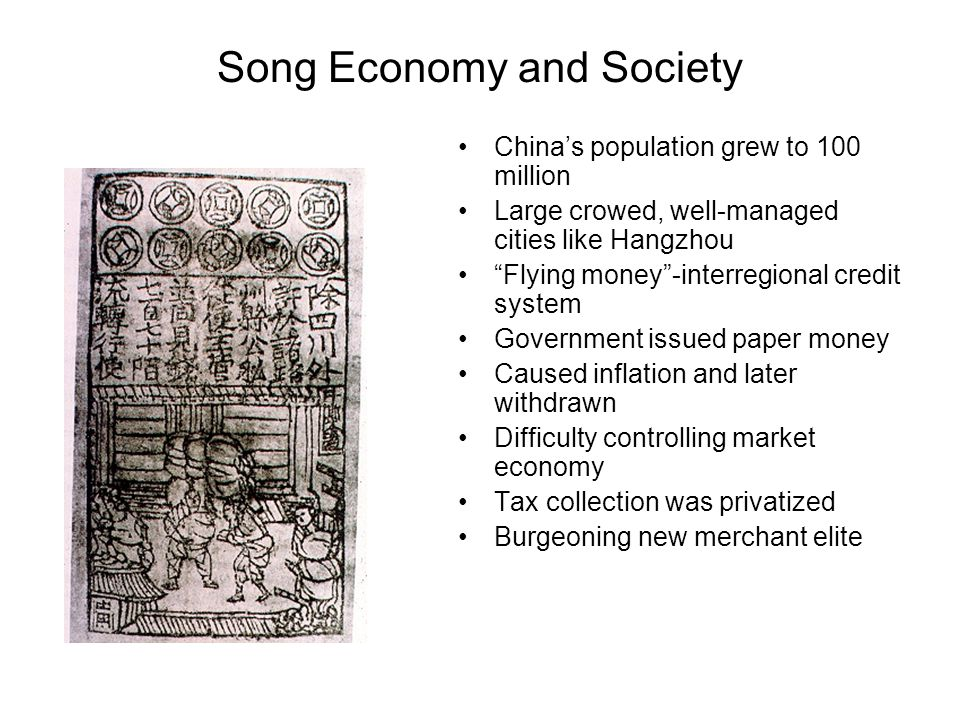 Song Economy and Society