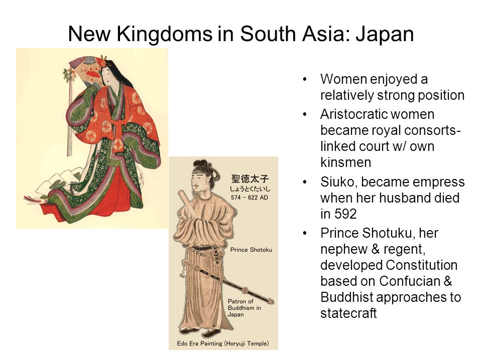 New Kingdoms in South Asia: Japan