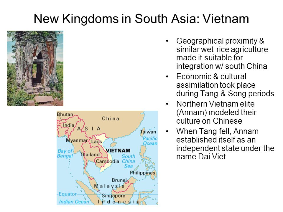 New Kingdoms in South Asia: Vietnam