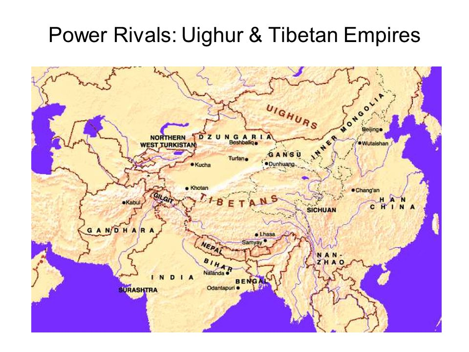 Power Rivals: Uighur & Tibetan Empires