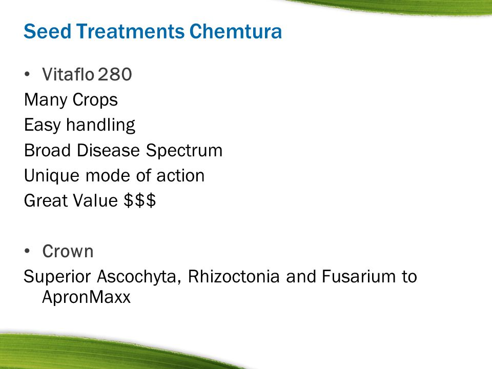 Seed Treatments Chemtura