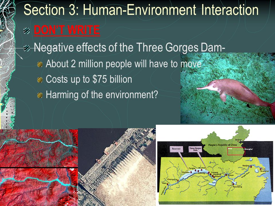 Section 3: Human-Environment Interaction