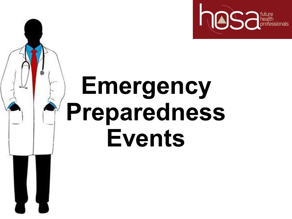 Emergency Preparedness Events
