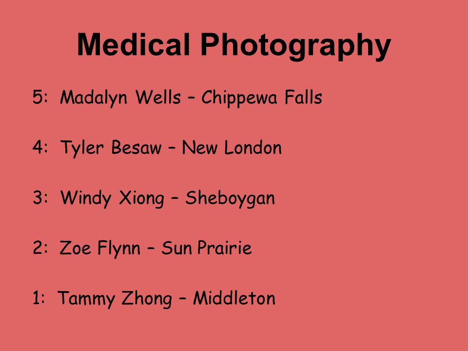 Medical Photography 5: Madalyn Wells – Chippewa Falls