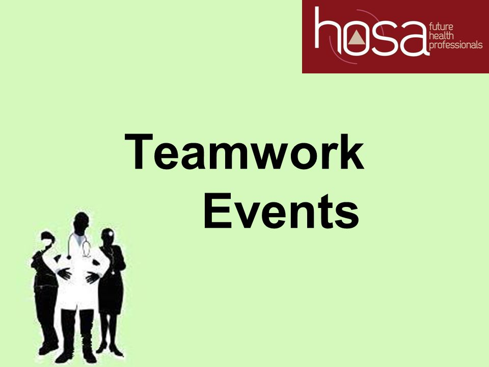 Teamwork Events