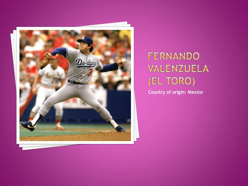 Fernando valenzuela (el toro)