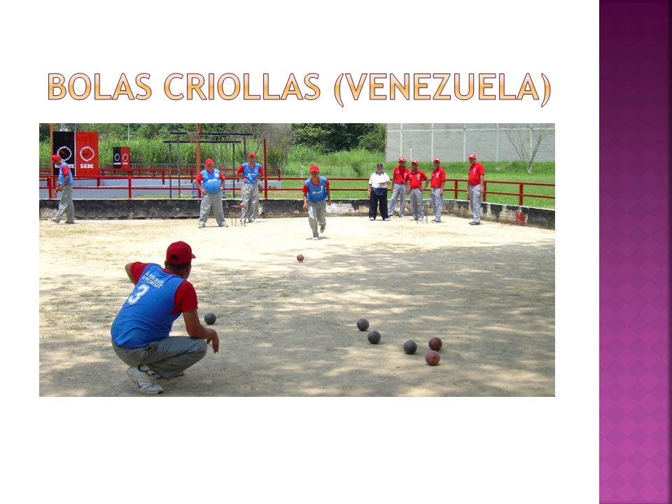 Bolas criollas (venezuela)
