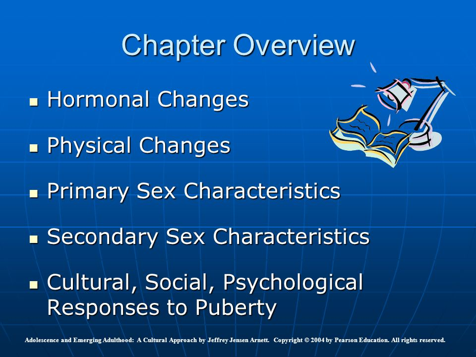 Chapter Overview Hormonal Changes Physical Changes