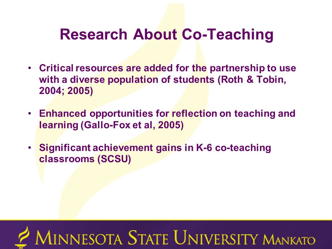 Research About Co-Teaching