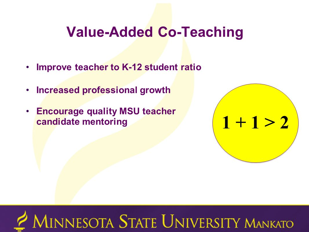 Value-Added Co-Teaching
