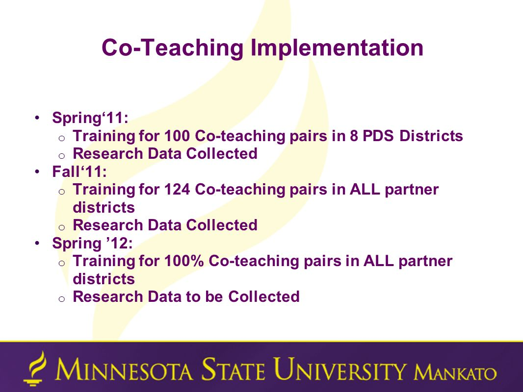 Co-Teaching Implementation