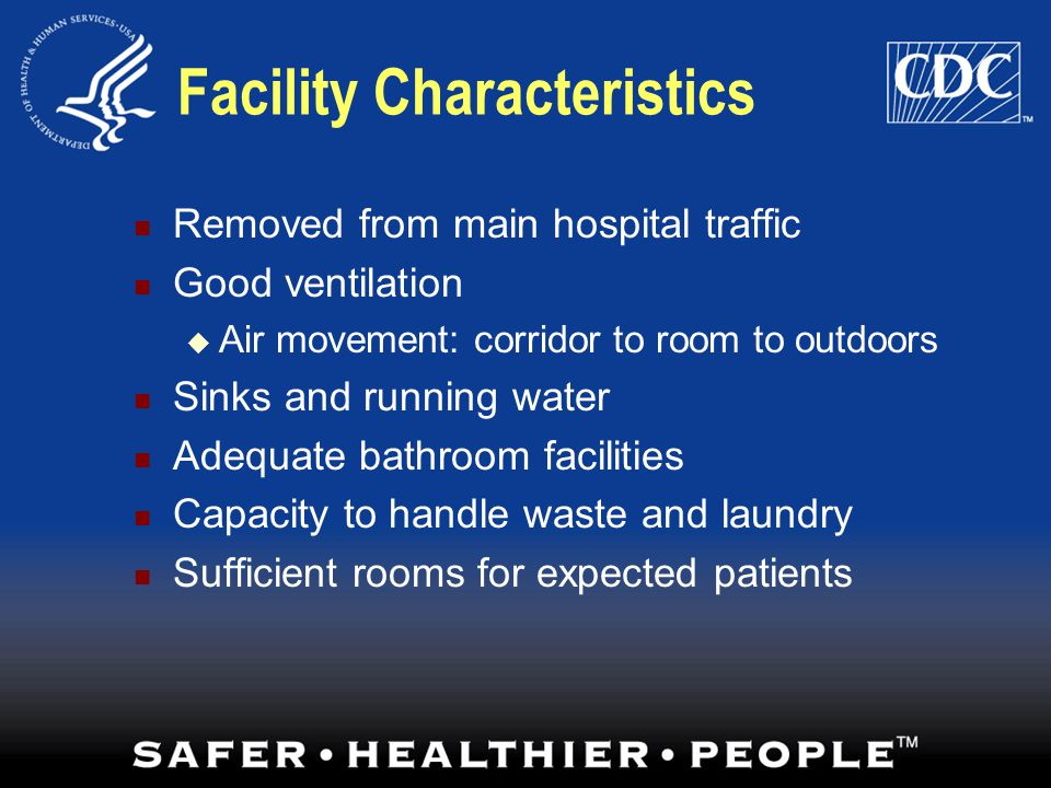 Facility Characteristics