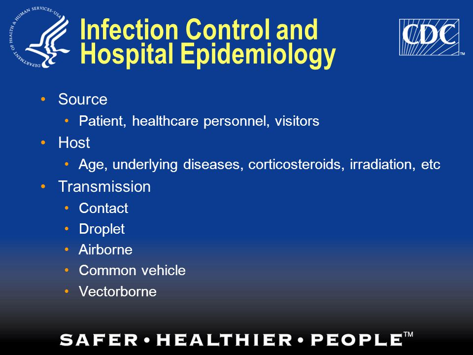 Infection Control and Hospital Epidemiology