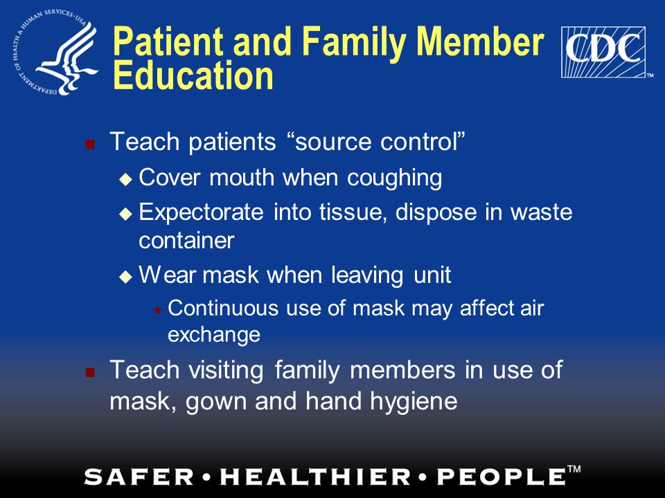 Patient and Family Member Education