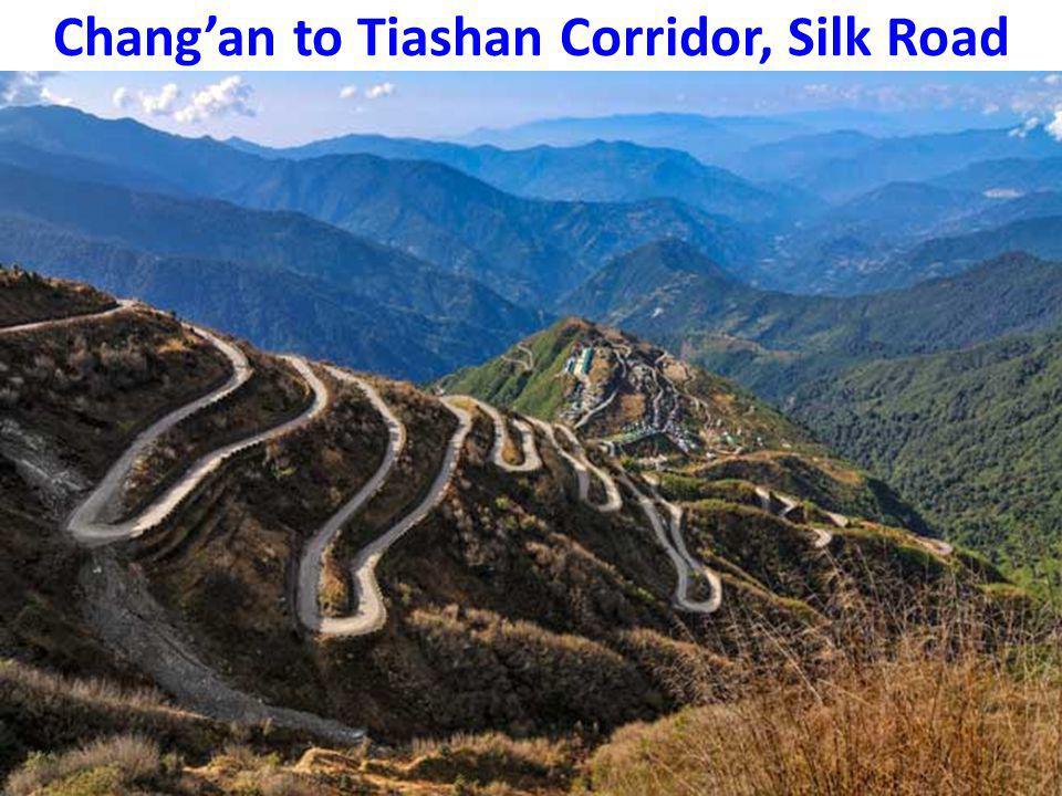 Chang'an to Tiashan Corridor, Silk Road