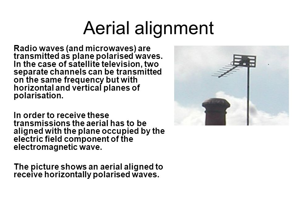 Aerial alignment