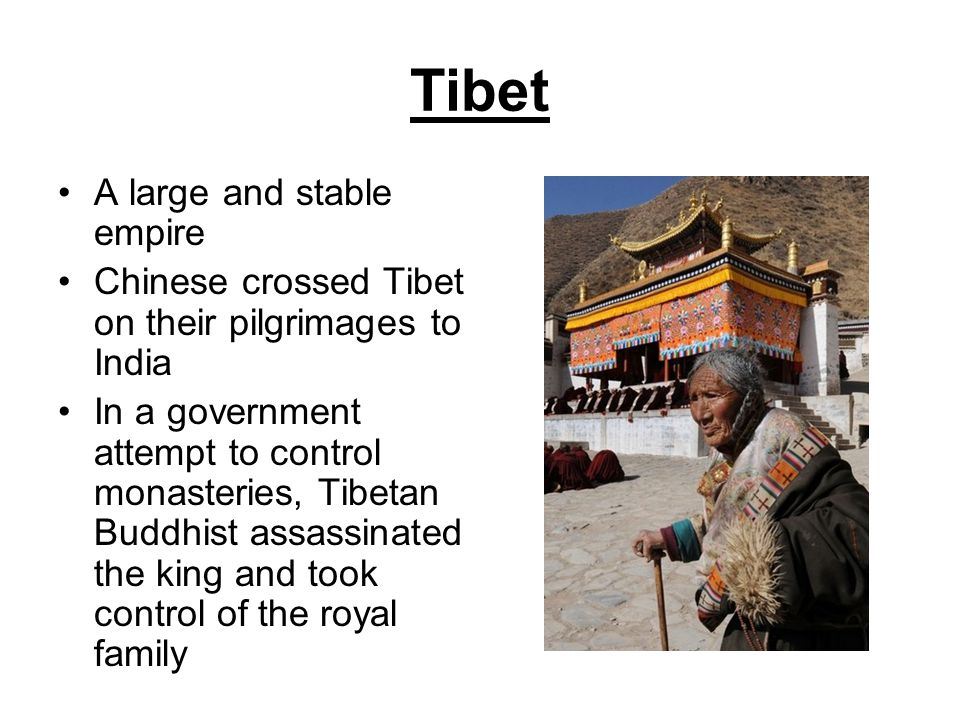 Tibet A large and stable empire