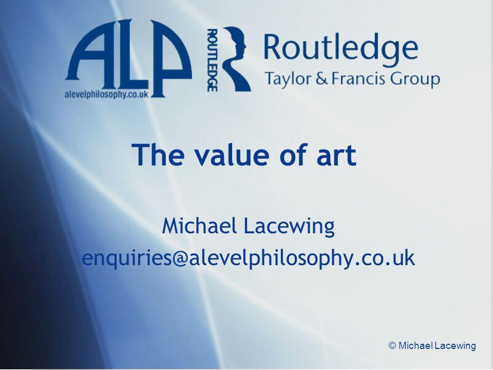 Michael Lacewing enquiries@alevelphilosophy.co.uk