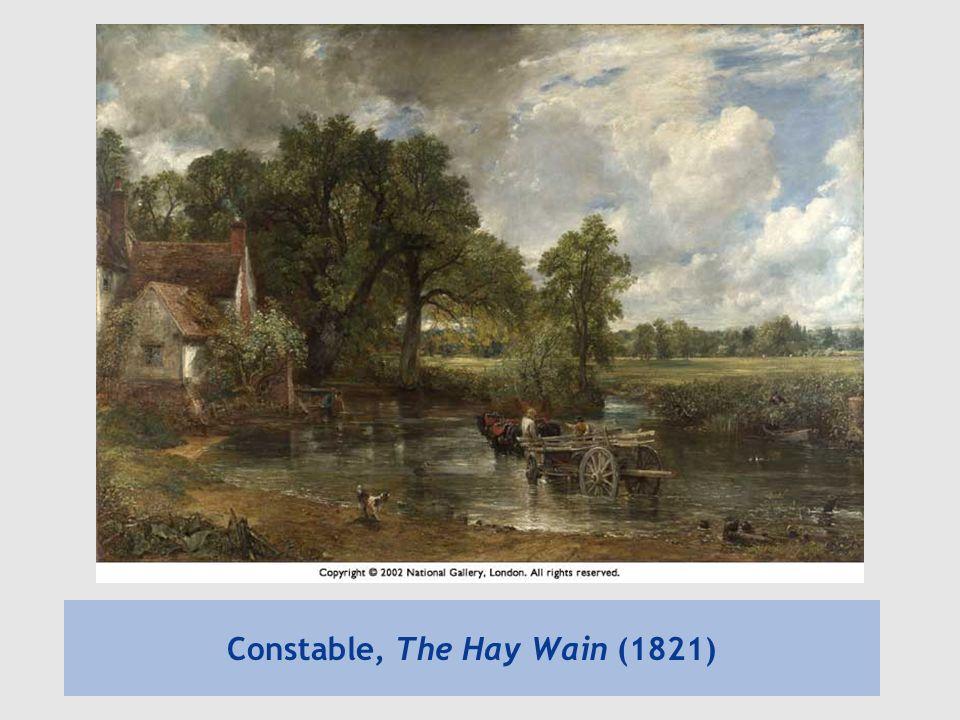 Constable, The Hay Wain (1821)