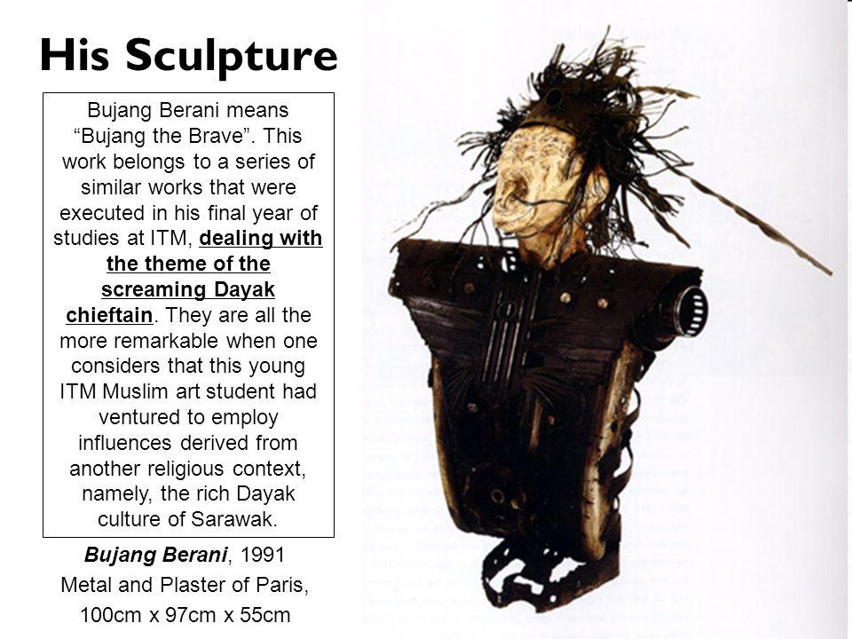 Metal and Plaster of Paris,