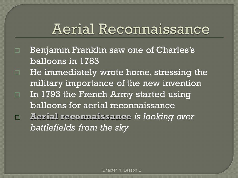 Aerial Reconnaissance