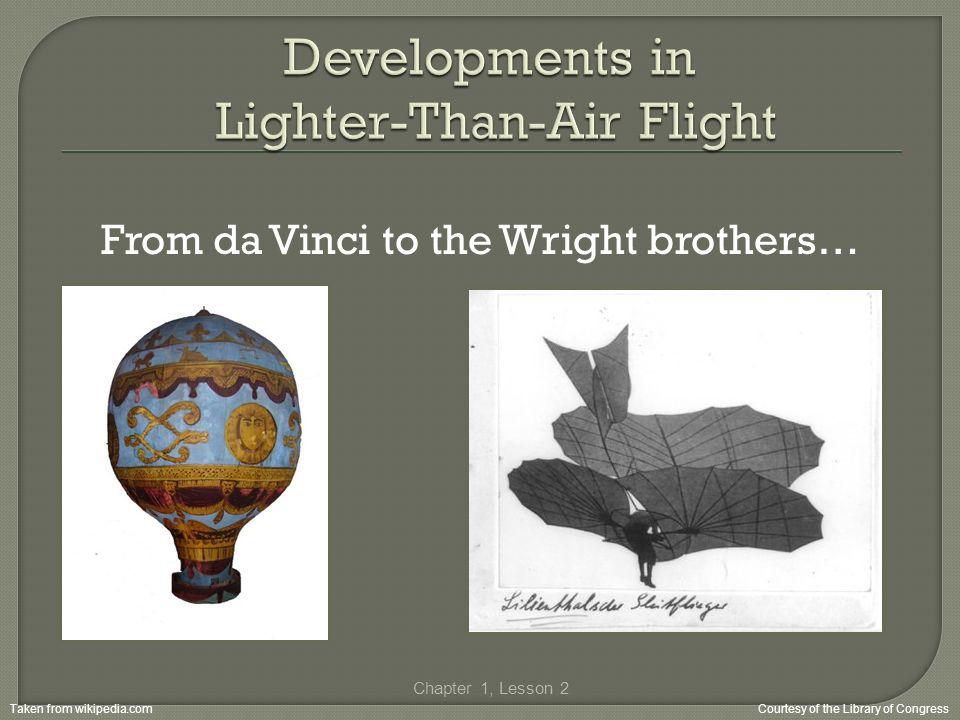 Developments in Lighter-Than-Air Flight