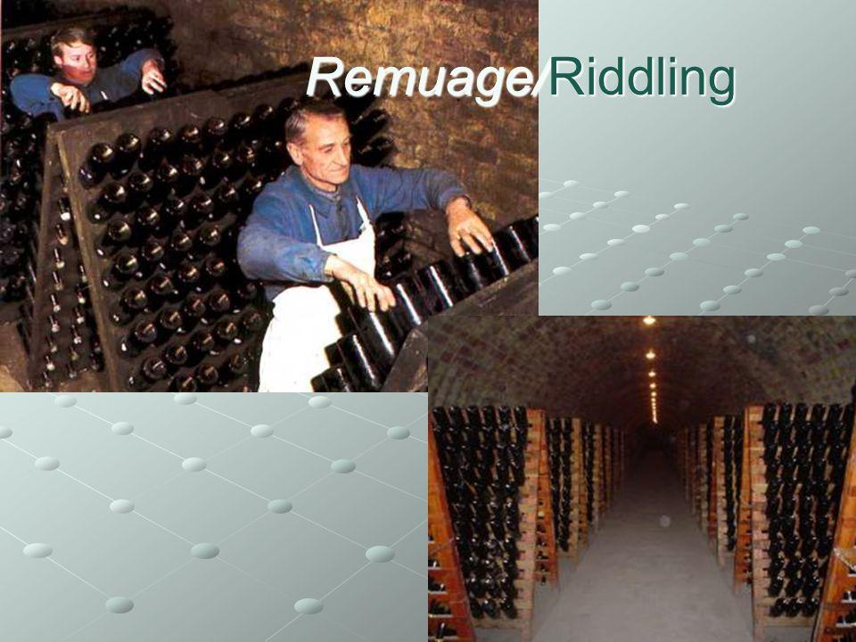 Remuage/Riddling