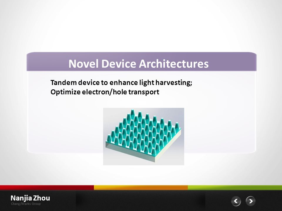 Novel Device Architectures