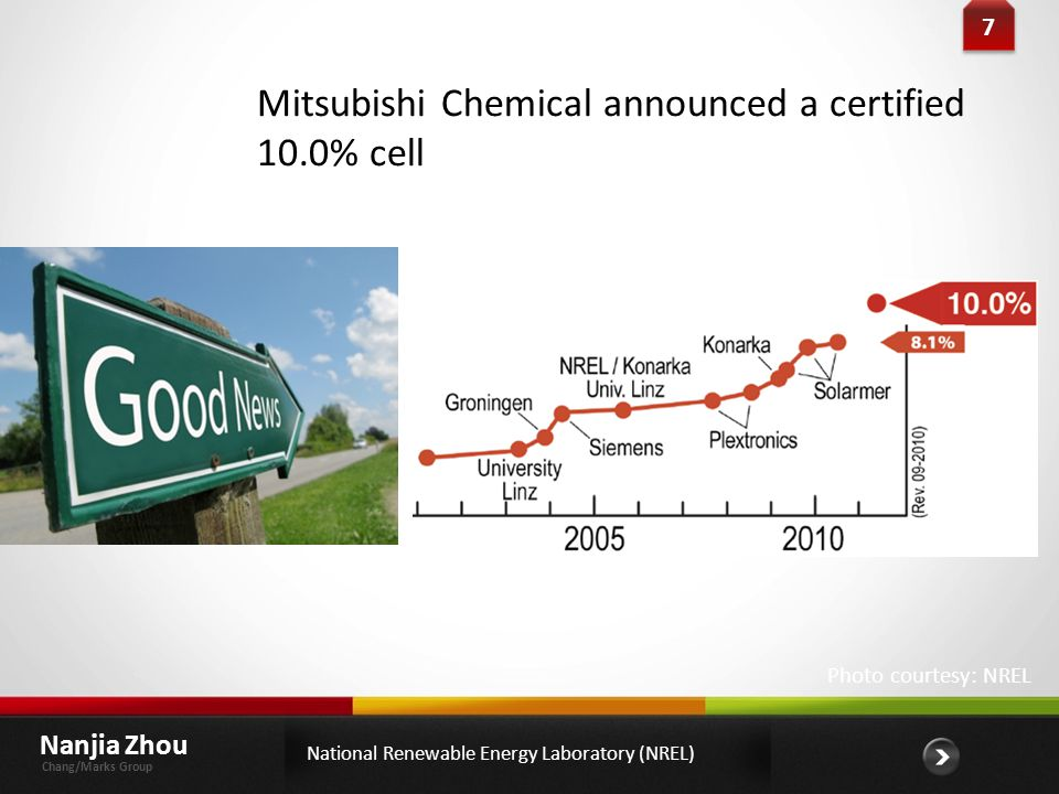 Mitsubishi Chemical announced a certified 10.0% cell
