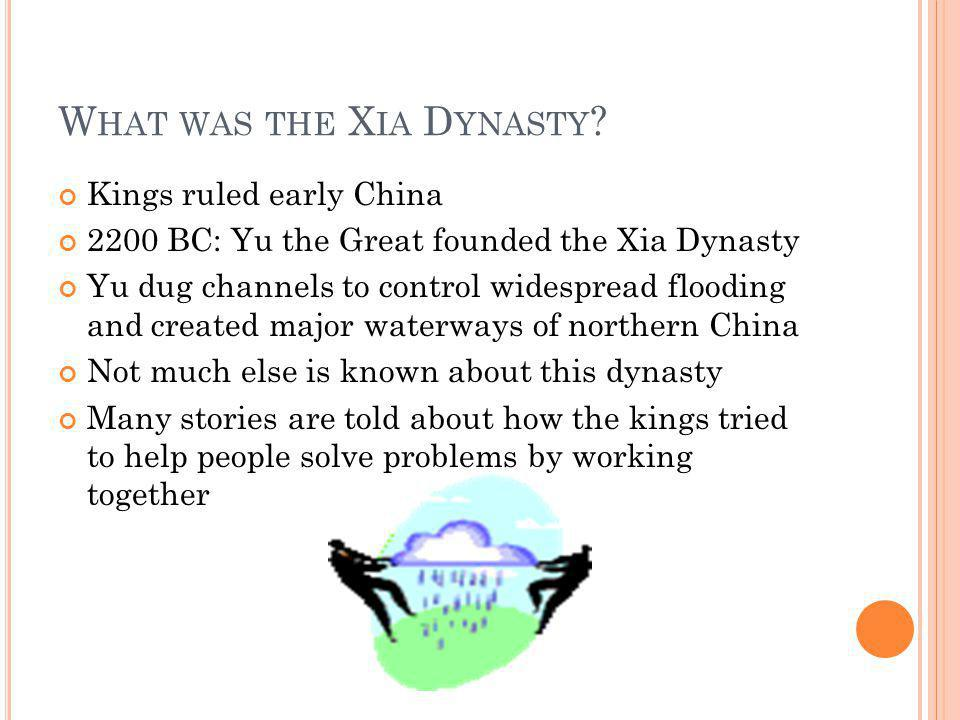 What was the Xia Dynasty