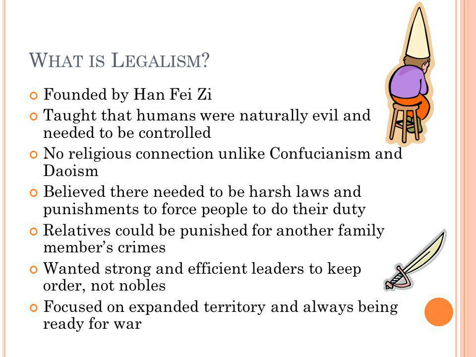 What is Legalism Founded by Han Fei Zi