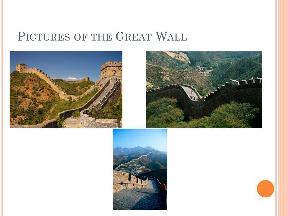 Pictures of the Great Wall