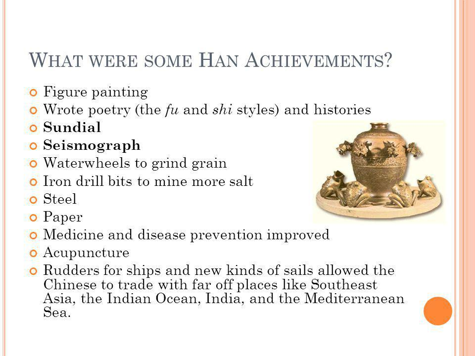 What were some Han Achievements