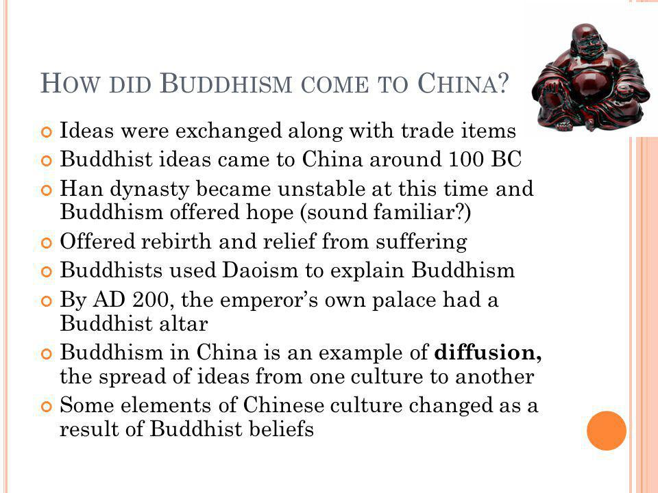 How did Buddhism come to China
