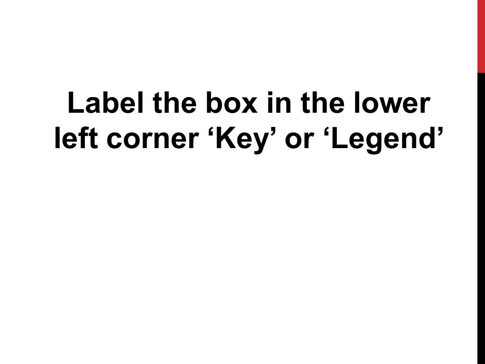 Label the box in the lower left corner 'Key' or 'Legend'