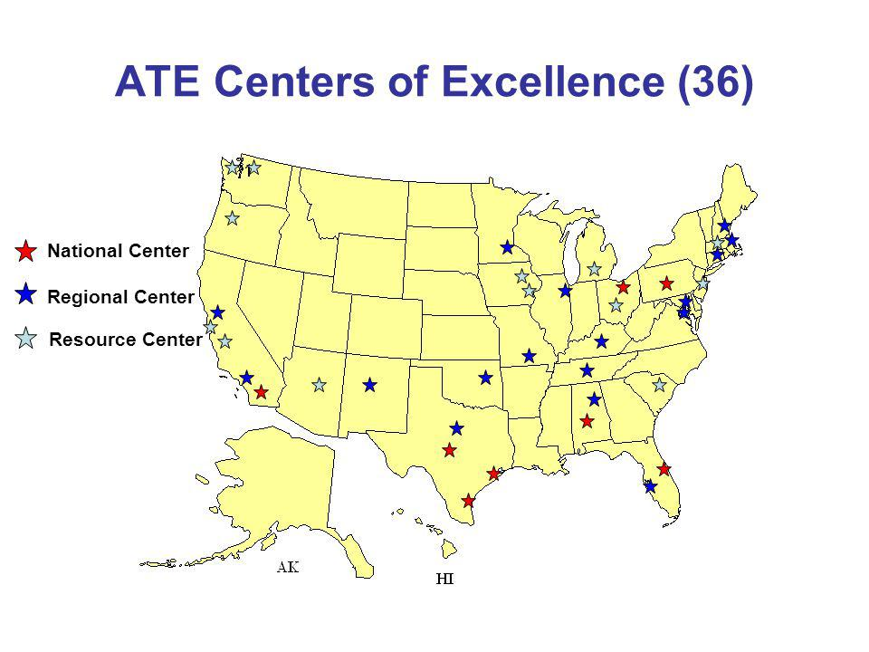 ATE Centers of Excellence (36)