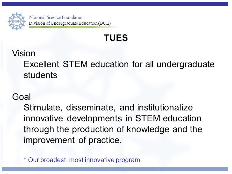 Excellent STEM education for all undergraduate students