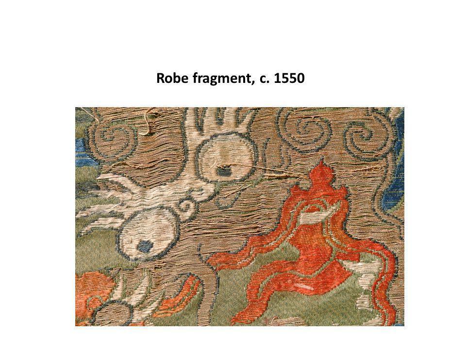 Robe fragment, c. 1550